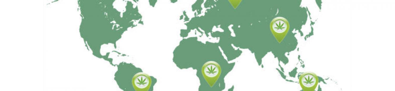 大麻が使用できる国