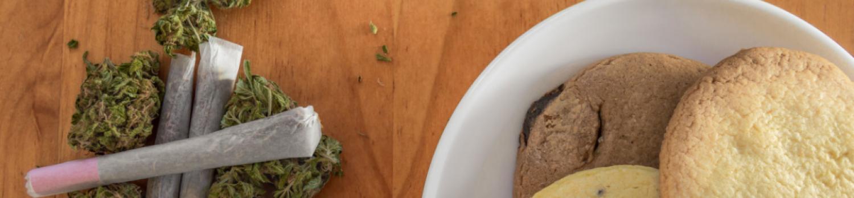 食用大麻とジョイント